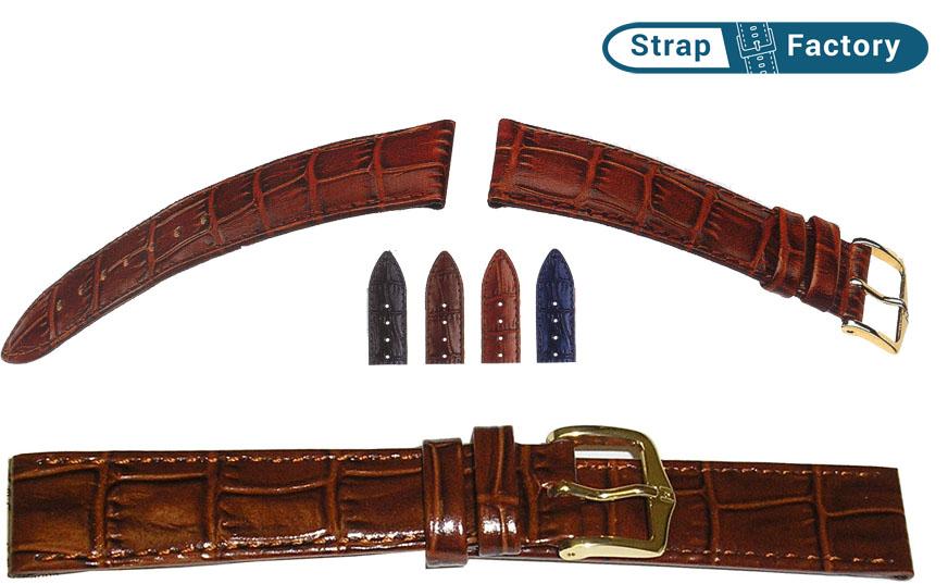 newsite Hirsch Louisianalook leather watch strap