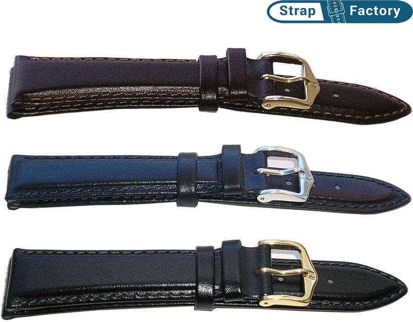 newsite Hirsch brumby leather watch strap