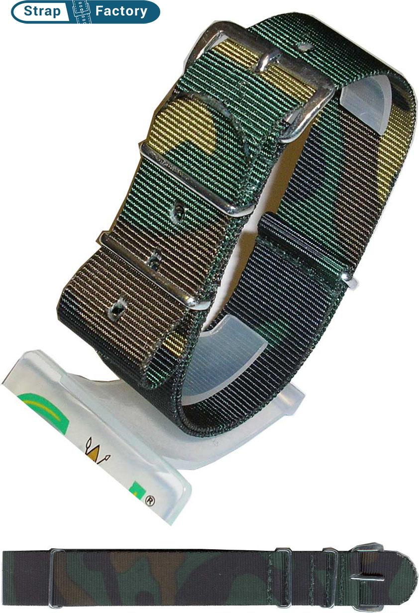 newsite camoflague g10 military watch strap