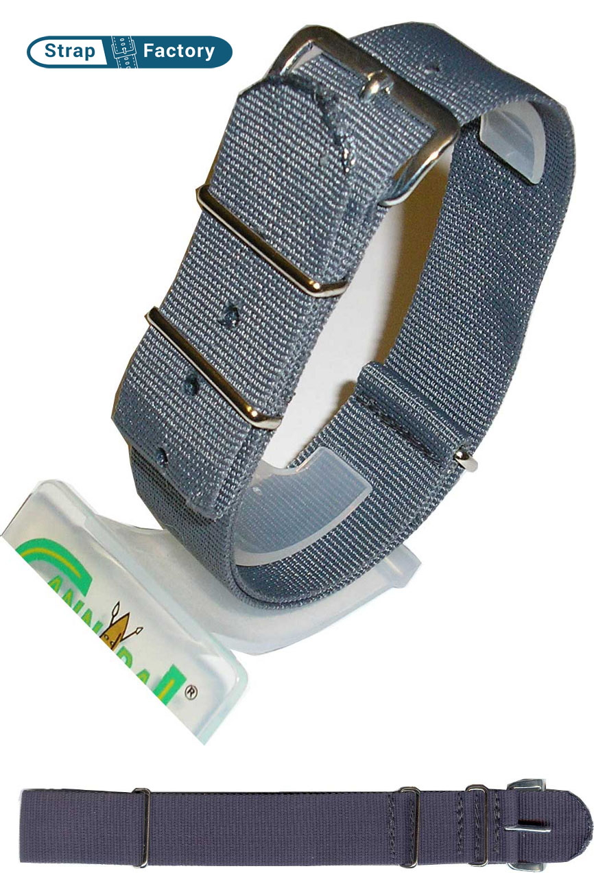 newsite gray g10 military watch strap