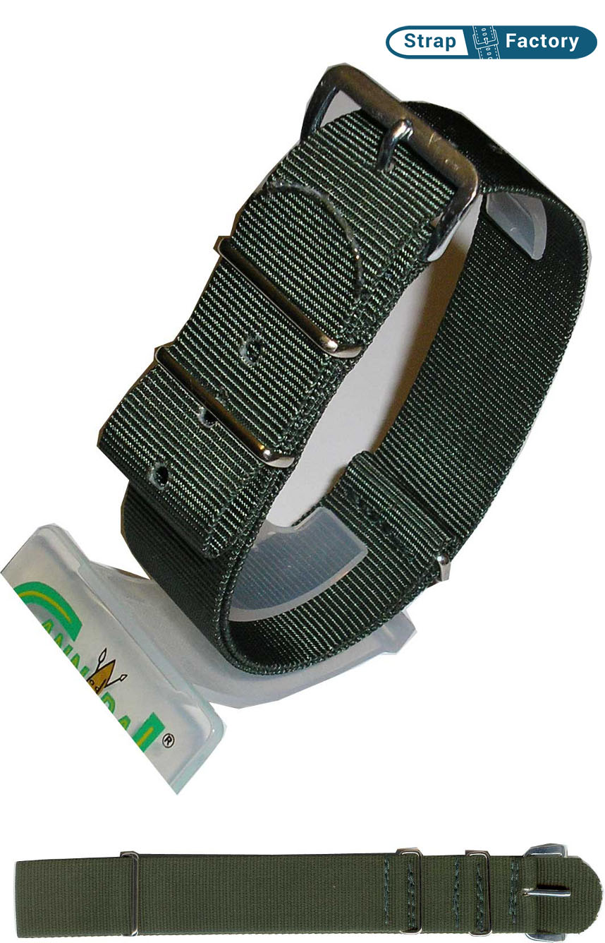 newsite khaki g10 military watch strap