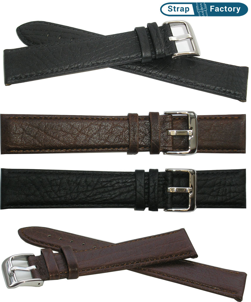 newsite saddle calf extra extra long leather watch strap
