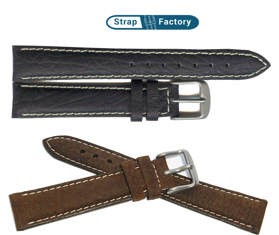 newsite woodland calf waterproof watch strap