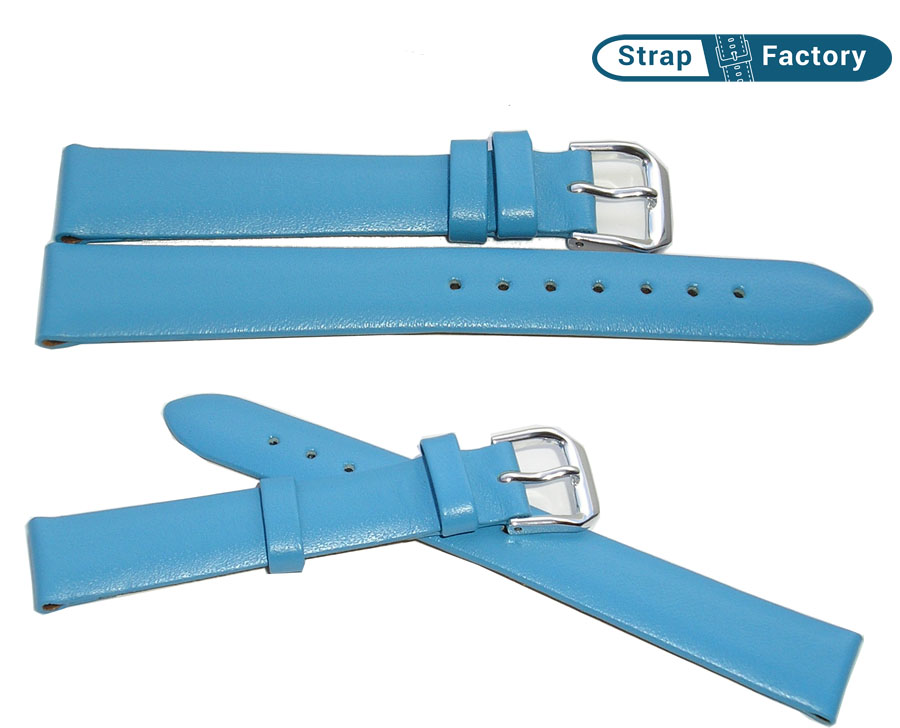 newsite_light blue calf leather watch strap