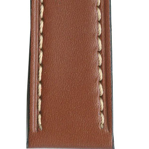 Padded Leather Watch Straps
